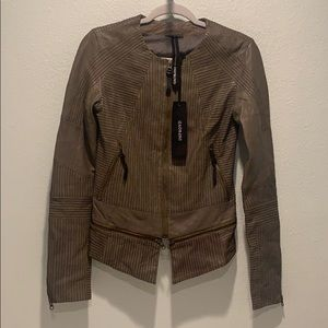Improvd 100% leather jacket